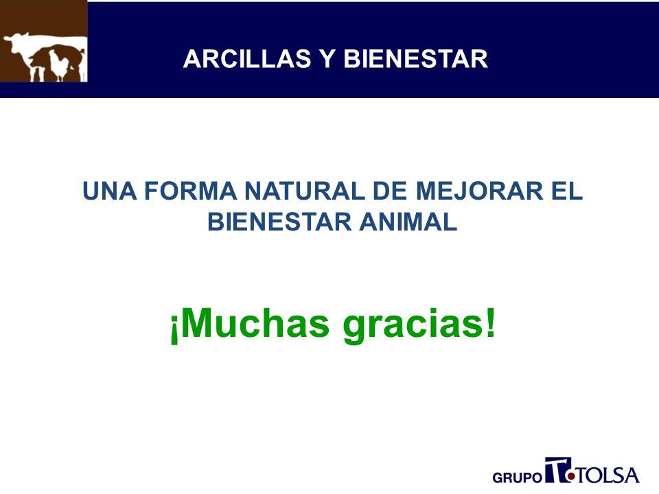 UNA FORMA NATURAL DE MEJORAR EL BIENESTAR ANIMAL