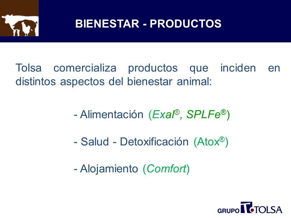 Alimentación (Exal®, SPLFe®) Salud - Detoxificación (Atox®)