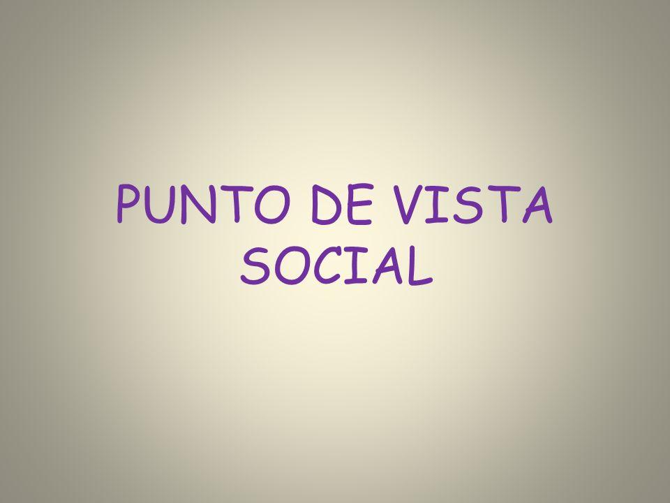PUNTO DE VISTA SOCIAL
