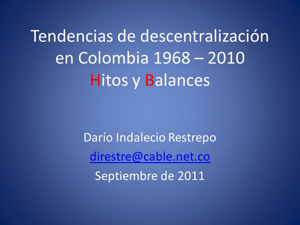 Darío Indalecio Restrepo direstre@cable.net.co Septiembre de 2011