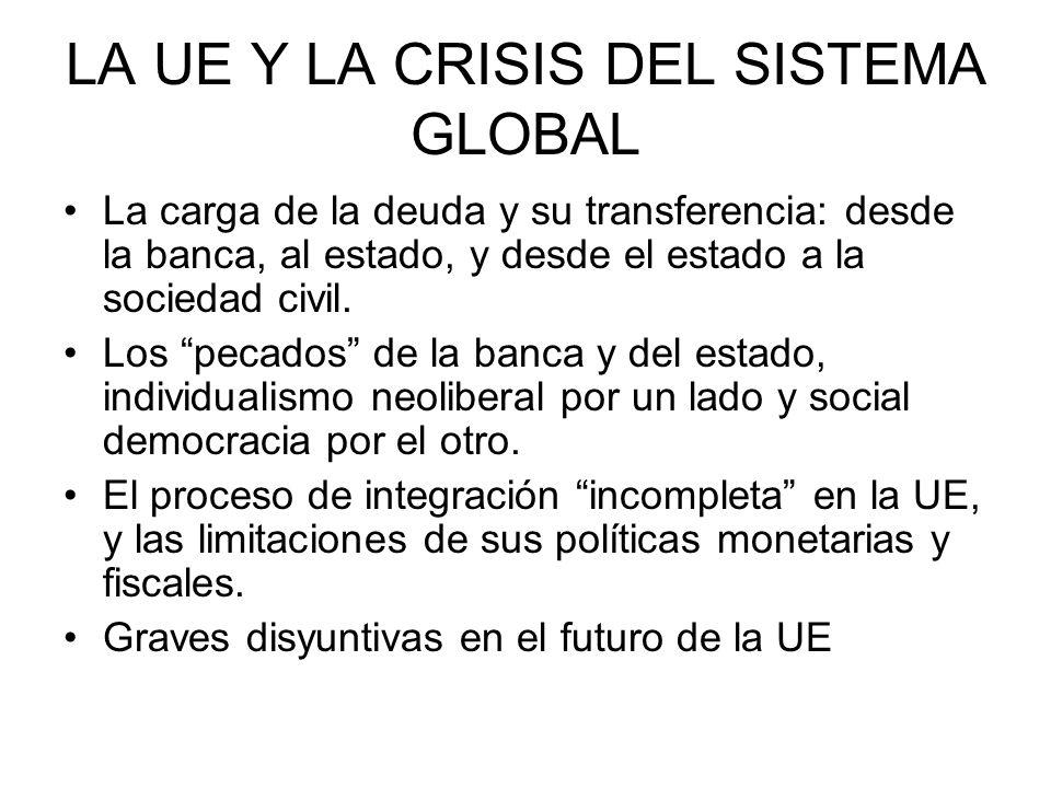 LA UE Y LA CRISIS DEL SISTEMA GLOBAL
