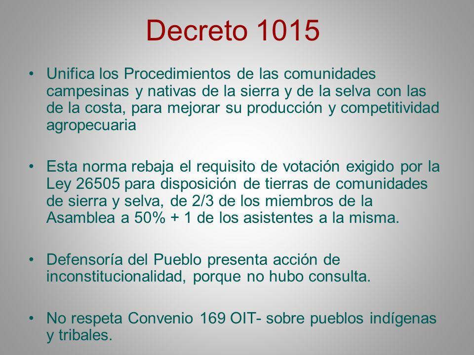 Decreto 1015