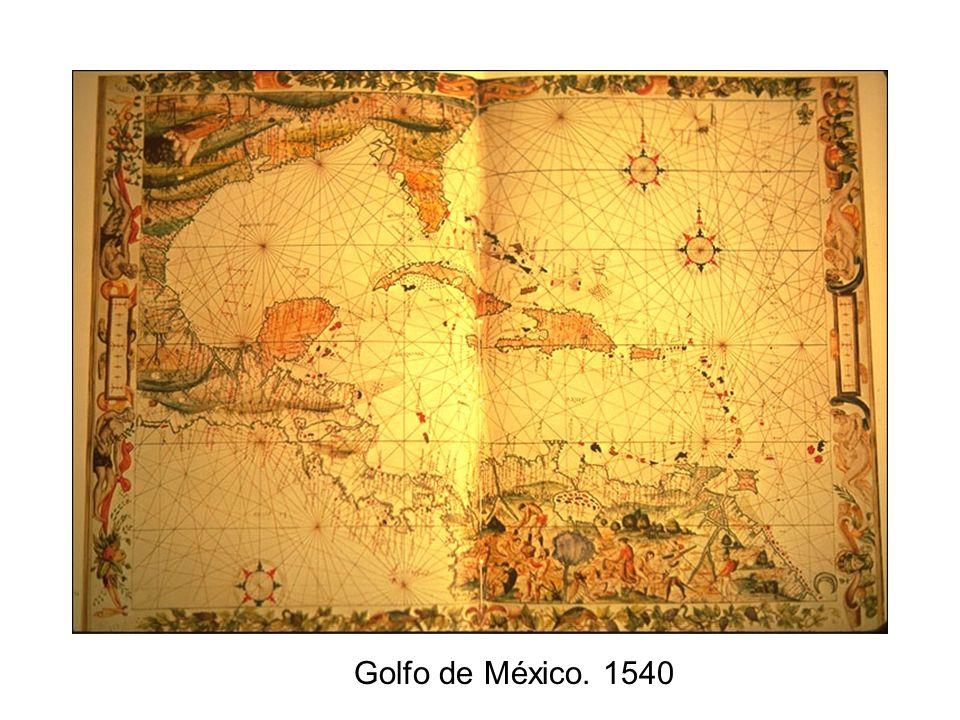 Golfo de México. 1540