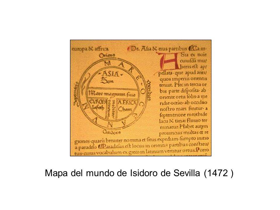 Mapa del mundo de Isidoro de Sevilla (1472 )