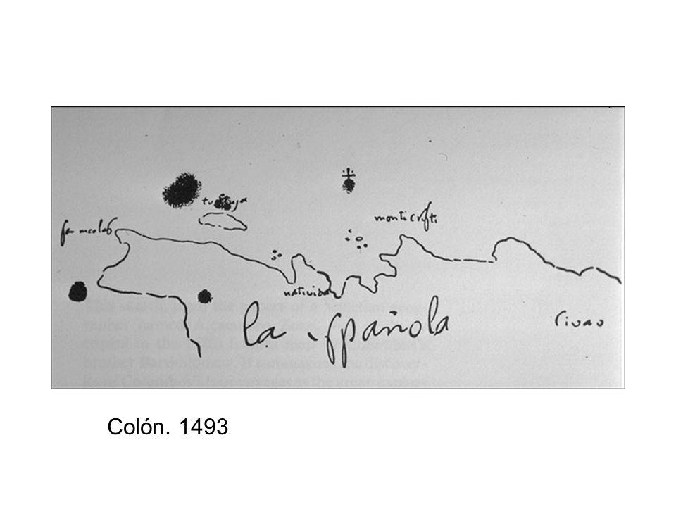Colón. 1493