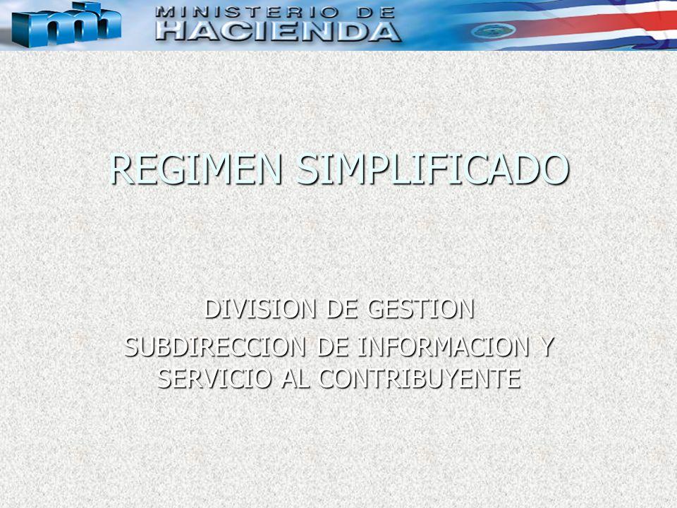 SUBDIRECCION DE INFORMACION Y SERVICIO AL CONTRIBUYENTE
