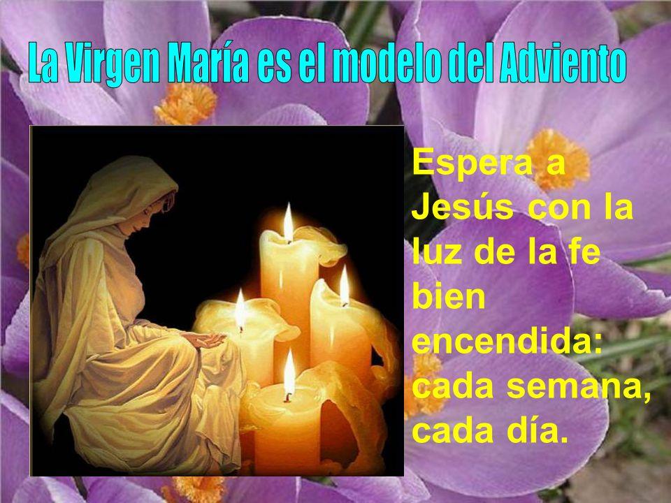 La Virgen María es el modelo del Adviento