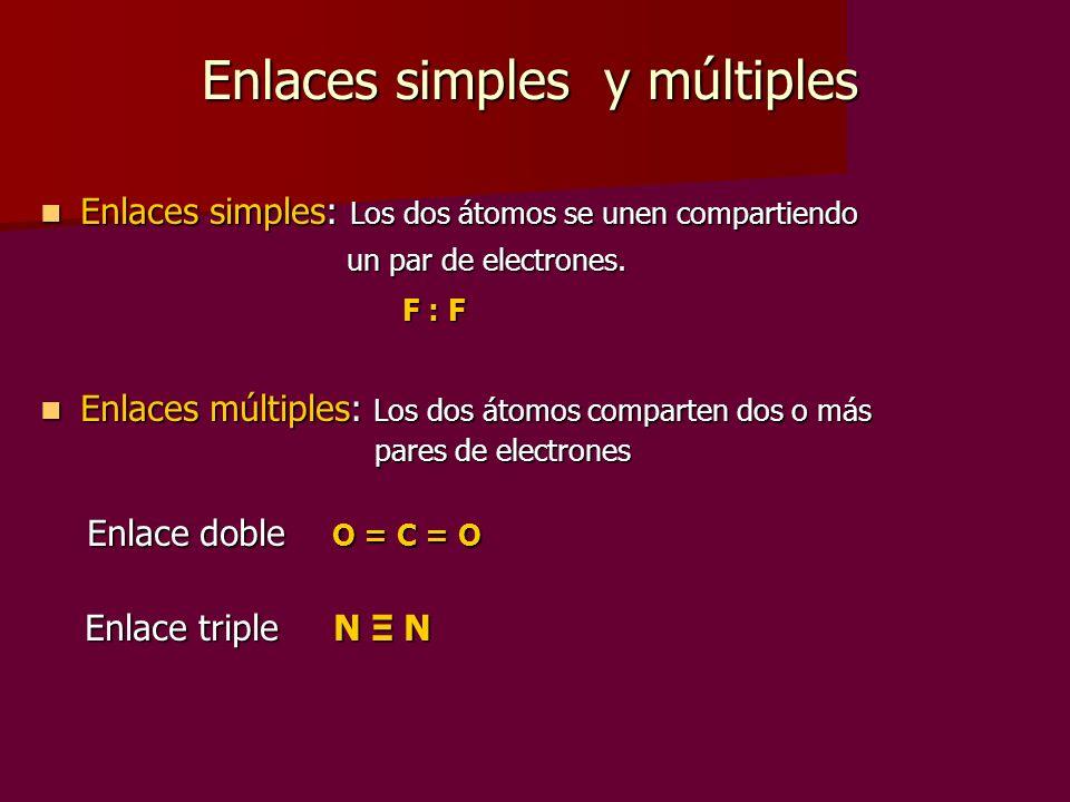 Enlaces simples y múltiples