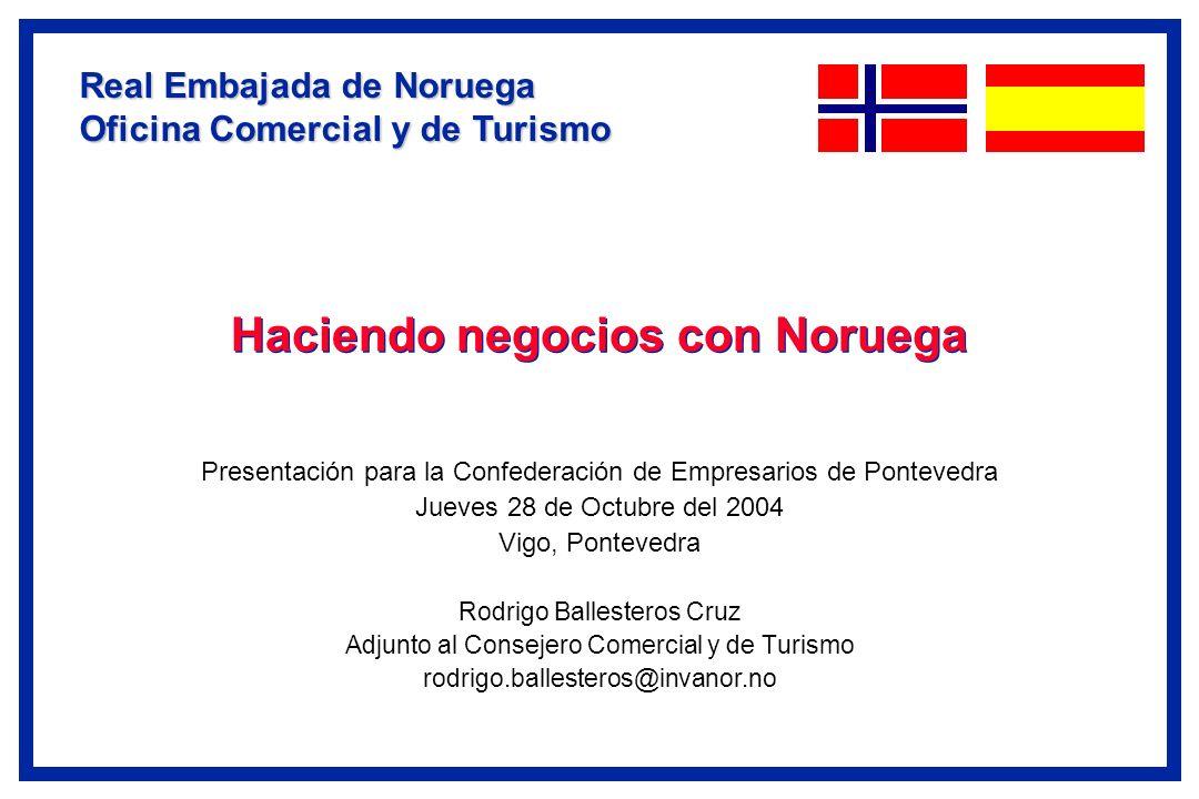 Haciendo negocios con Noruega