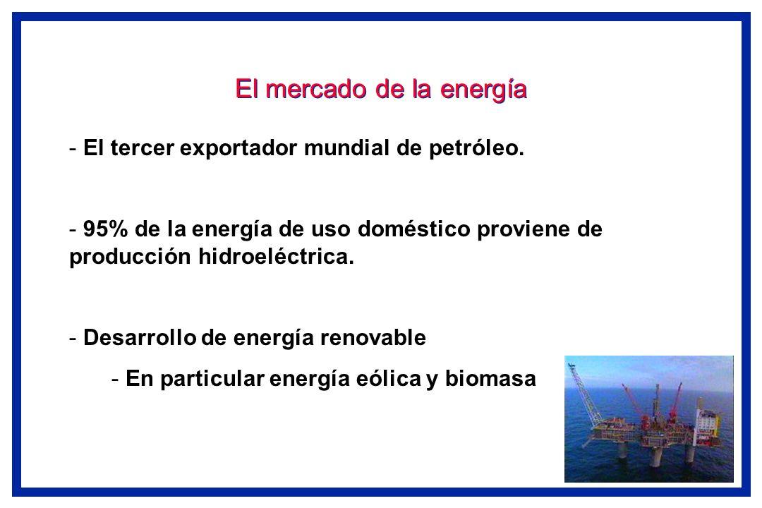El mercado de la energía