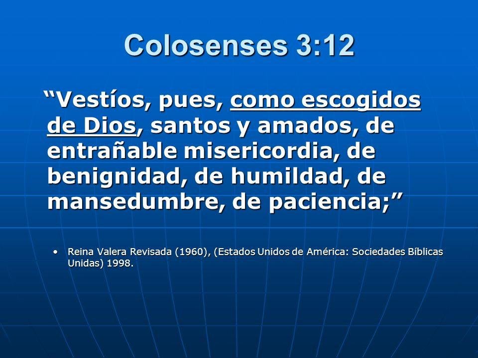 Colosenses 3:12