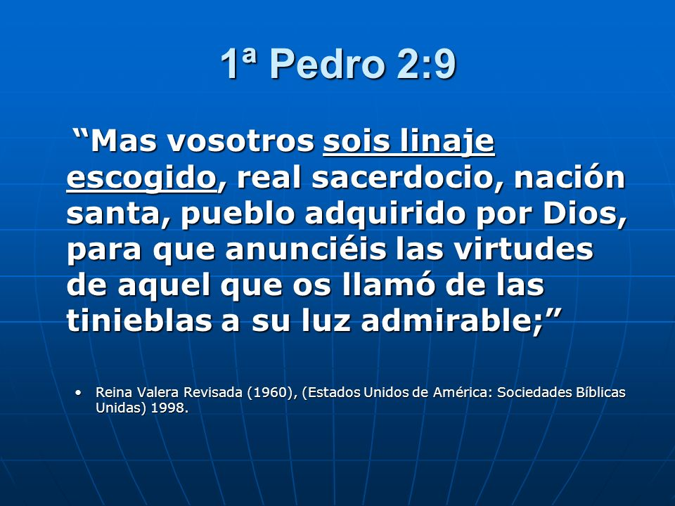 1ª Pedro 2:9