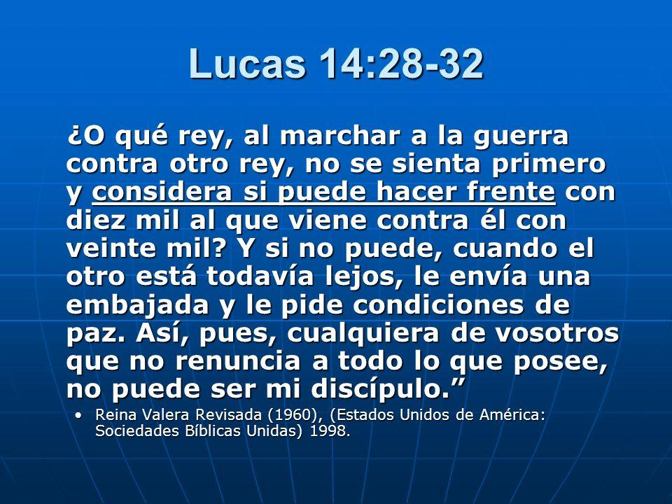 Lucas 14:28-32