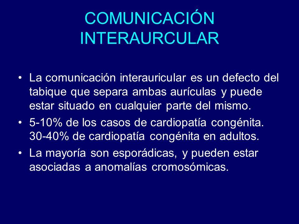 COMUNICACIÓN INTERAURCULAR