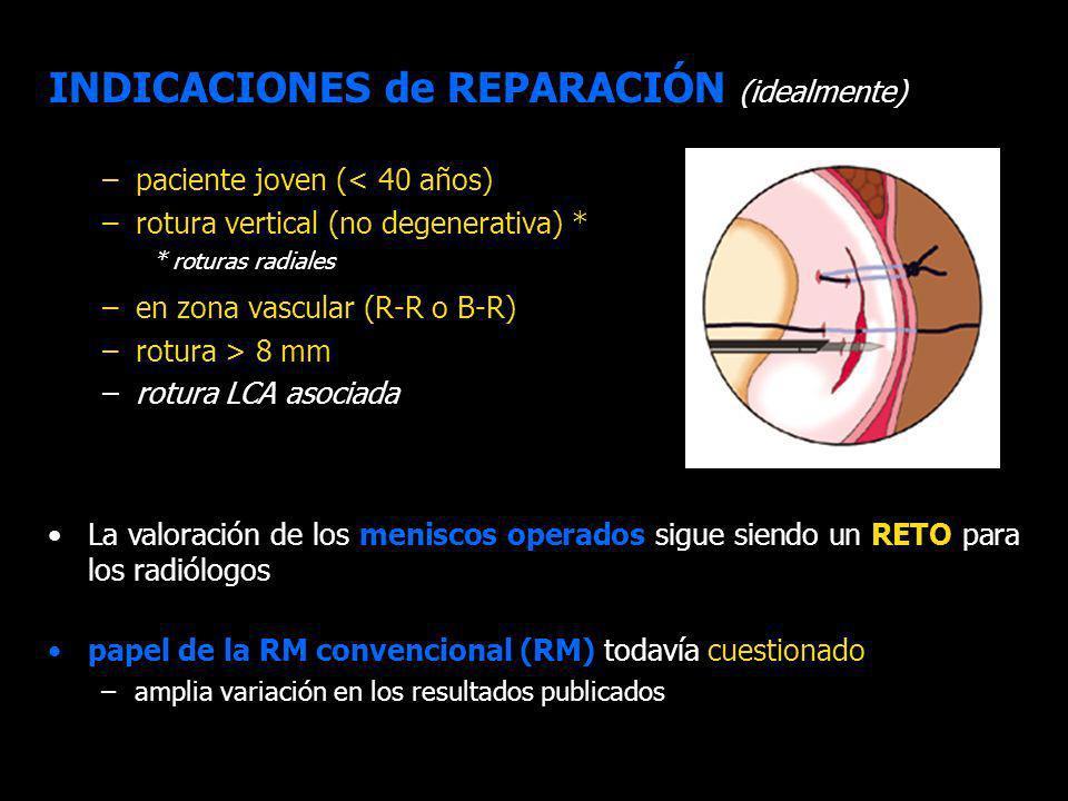 INDICACIONES de REPARACIÓN (idealmente)
