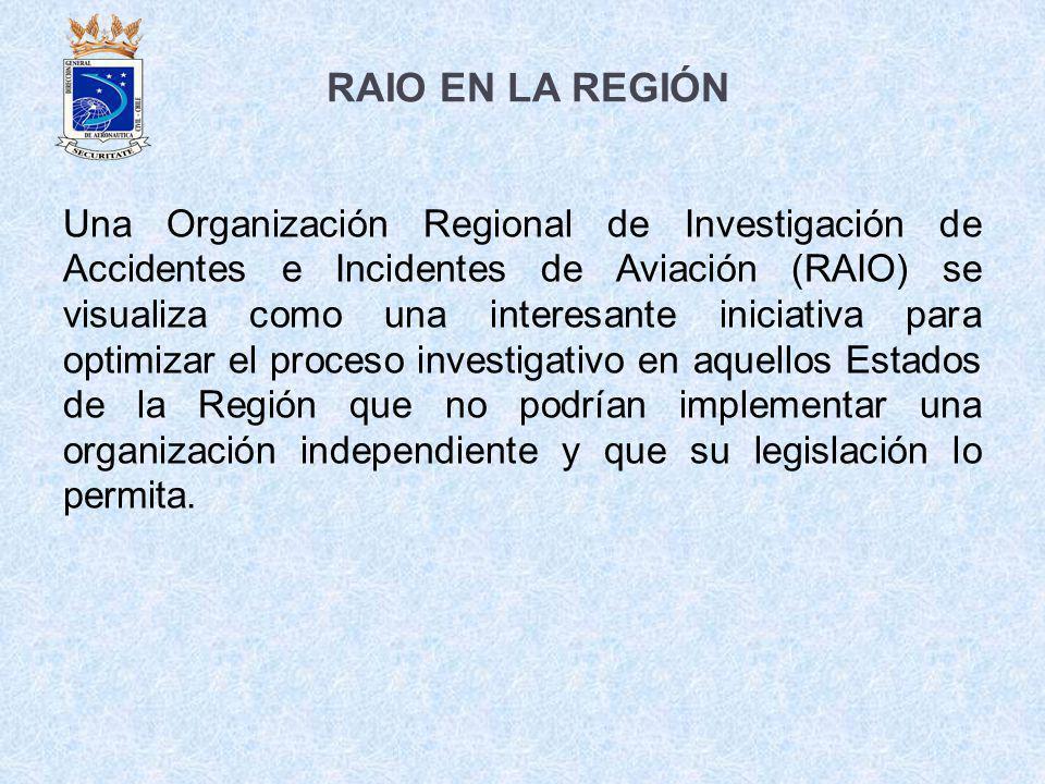 RAIO EN LA REGIÓN
