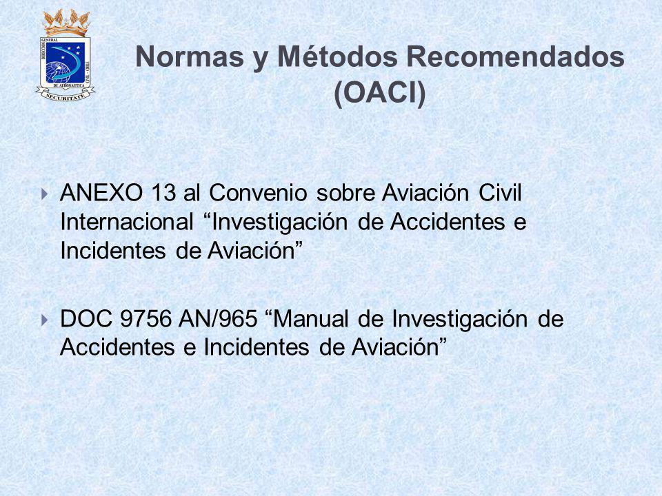 Normas y Métodos Recomendados (OACI)