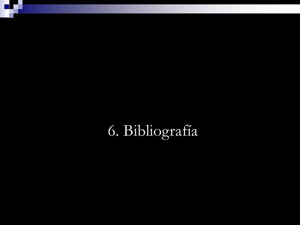 6. Bibliografía
