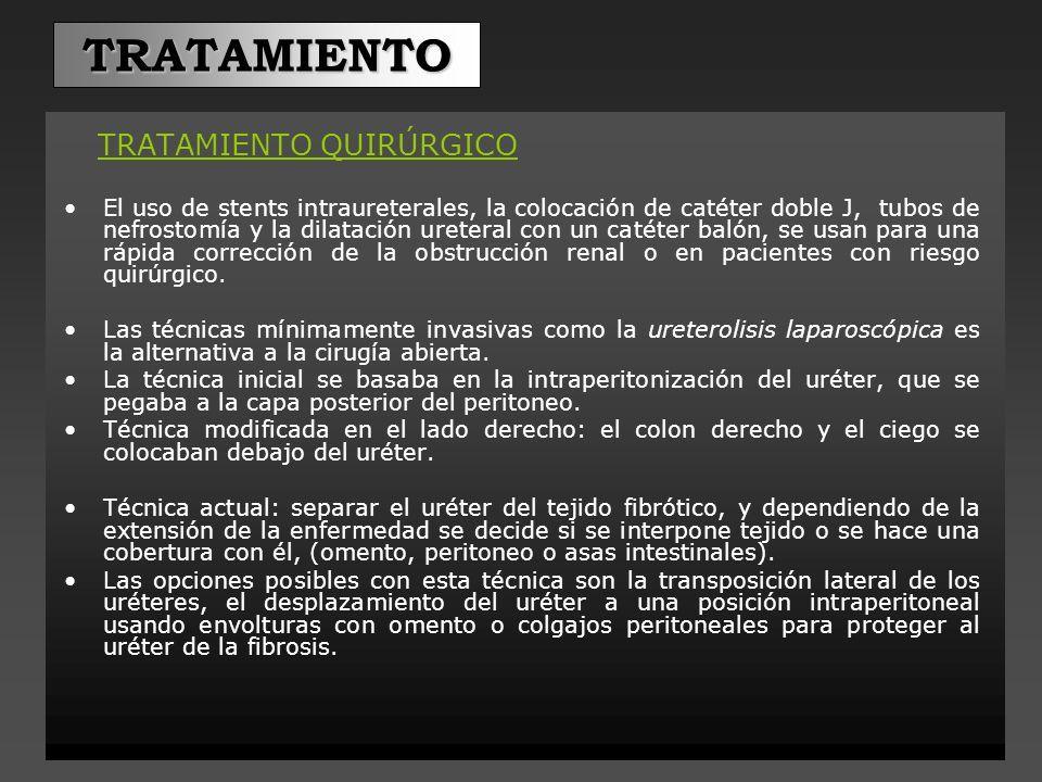 TRATAMIENTO TRATAMIENTO QUIRÚRGICO