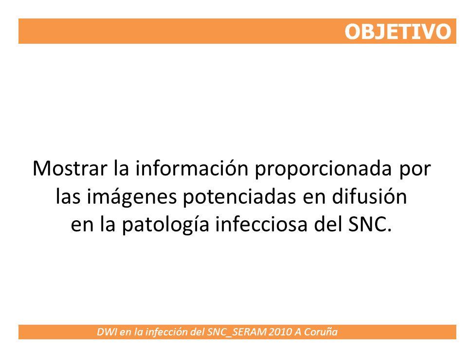 en la patología infecciosa del SNC.