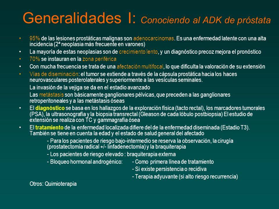 Generalidades I: Conociendo al ADK de próstata