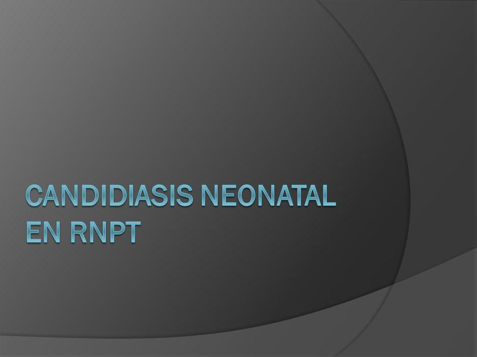 Candidiasis neonatal en rnpt