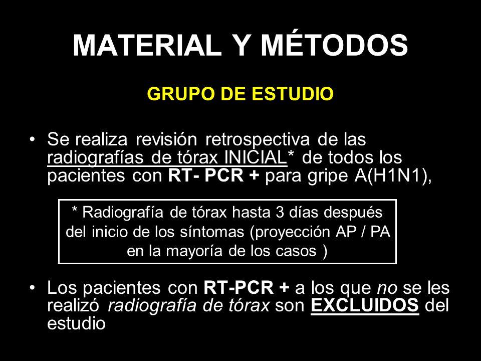MATERIAL Y MÉTODOS GRUPO DE ESTUDIO