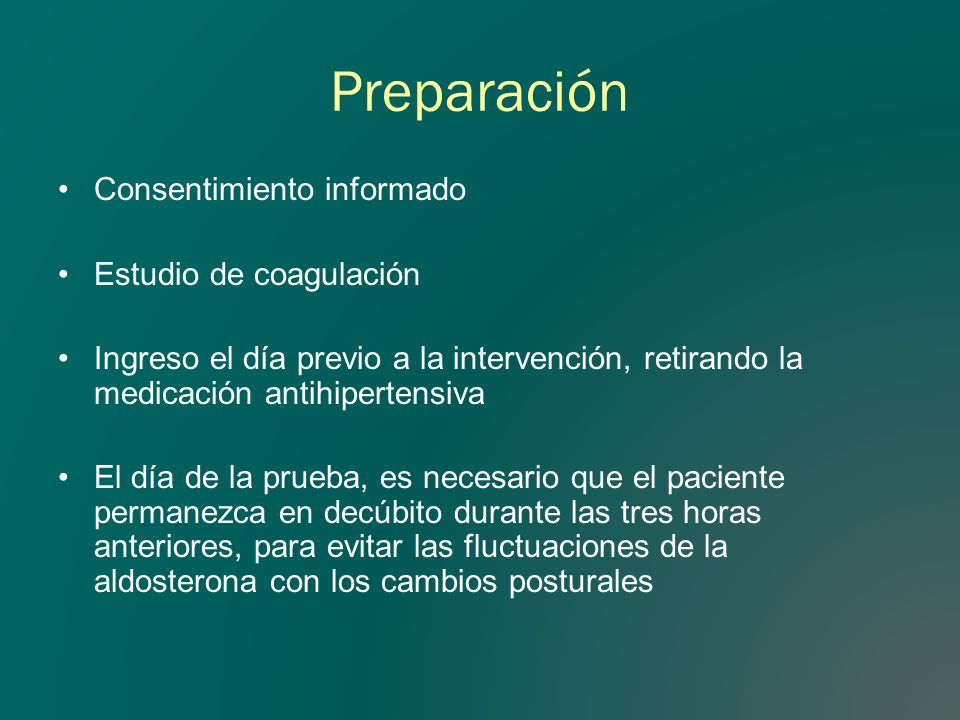 Preparación Consentimiento informado Estudio de coagulación