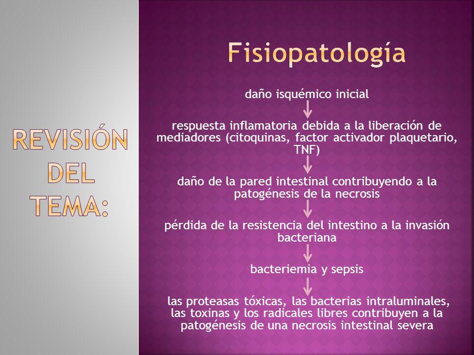 Fisiopatología REVISIÓN DEL TEMA: