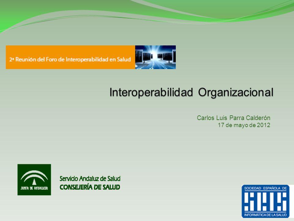 Interoperabilidad Organizacional