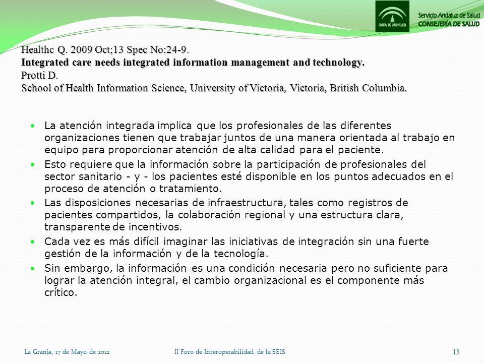 II Foro de Interoperabilidad de la SEIS