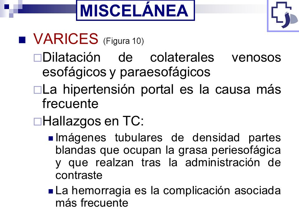 MISCELÁNEA VARICES (Figura 10)