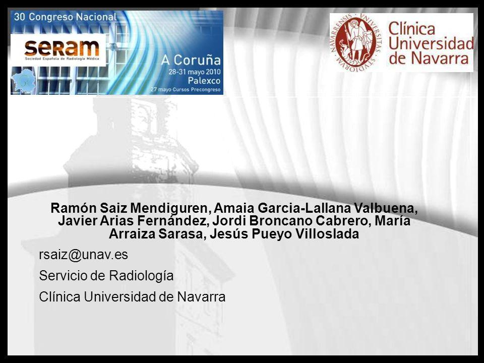 Ramón Saiz Mendiguren, Amaia Garcia-Lallana Valbuena, Javier Arias Fernández, Jordi Broncano Cabrero, María Arraiza Sarasa, Jesús Pueyo Villoslada