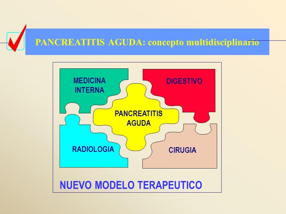 PANCREATITIS AGUDA: concepto multidisciplinario