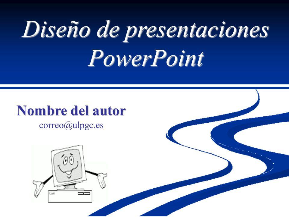 Diseño de presentaciones