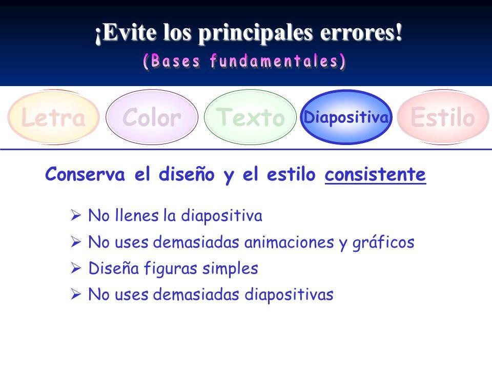 ¡Evite los principales errores! (Bases fundamentales)