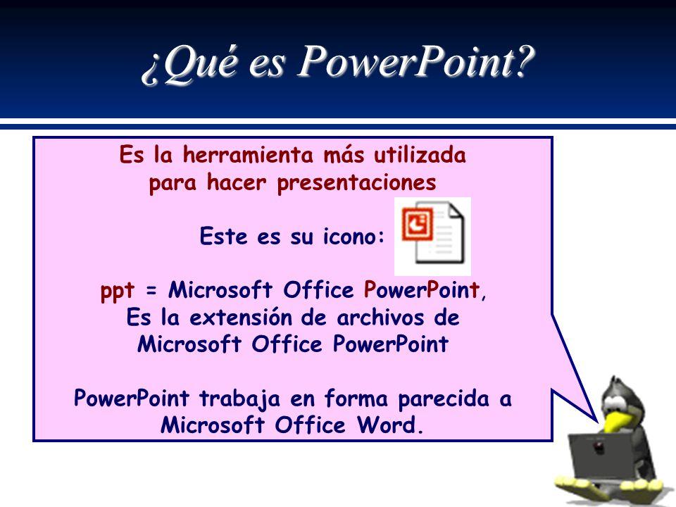 ¿Qué es PowerPoint Es la herramienta más utilizada