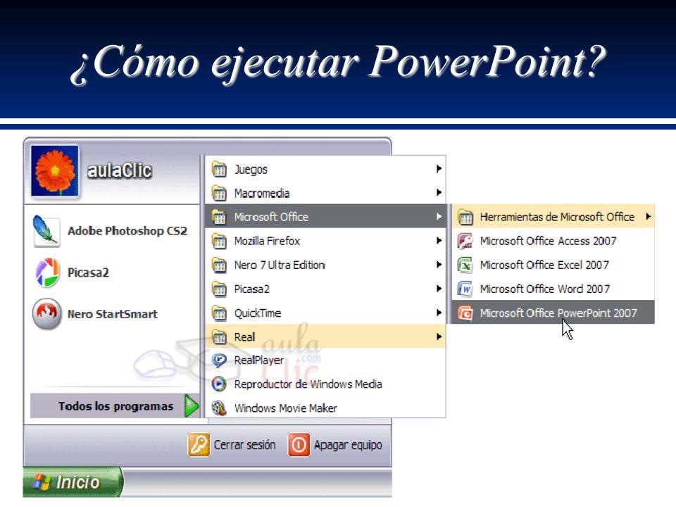 ¿Cómo ejecutar PowerPoint