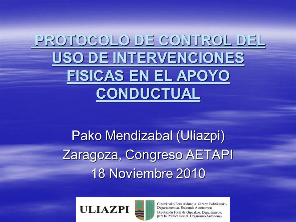 Pako Mendizabal (Uliazpi) Zaragoza, Congreso AETAPI 18 Noviembre 2010