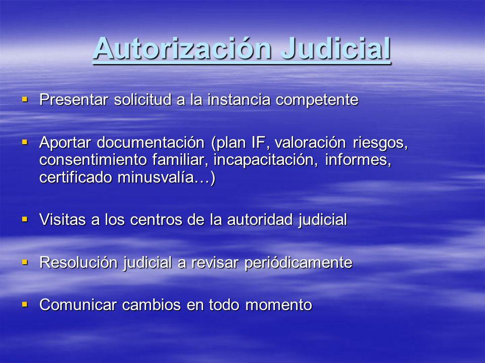 Autorización Judicial