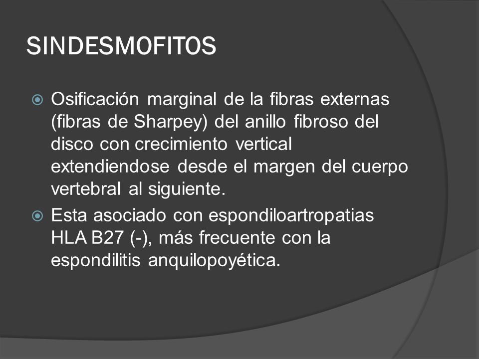 SINDESMOFITOS