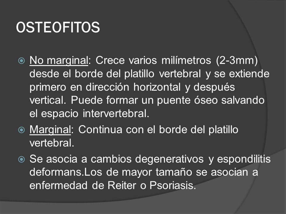 OSTEOFITOS