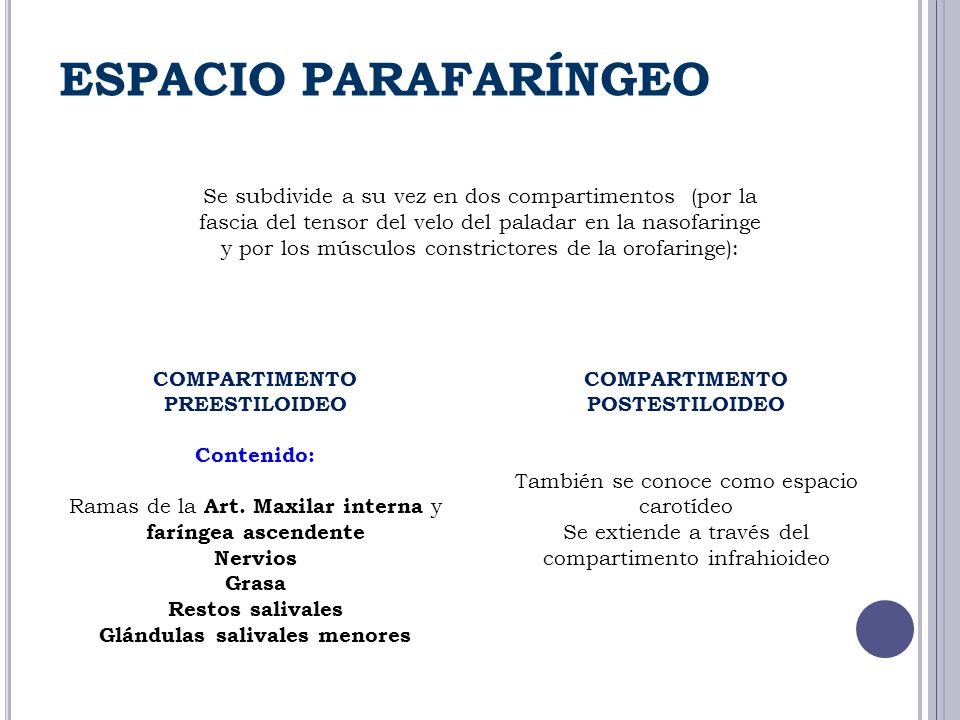 ESPACIO PARAFARÍNGEO