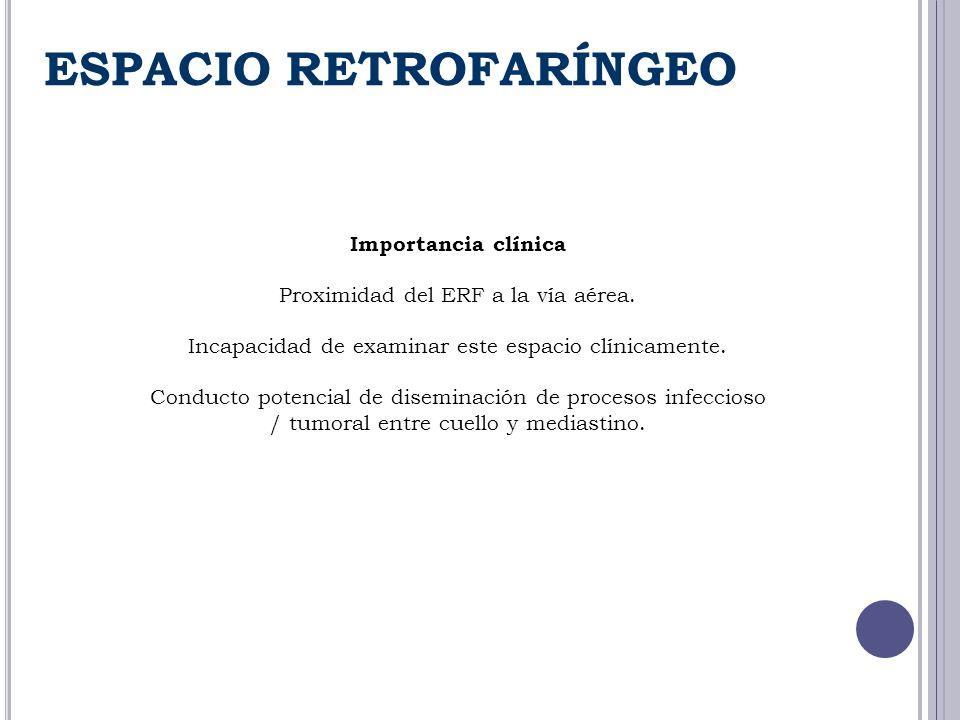 ESPACIO RETROFARÍNGEO