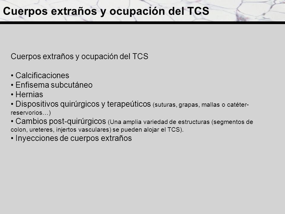 Cuerpos extraños y ocupación del TCS
