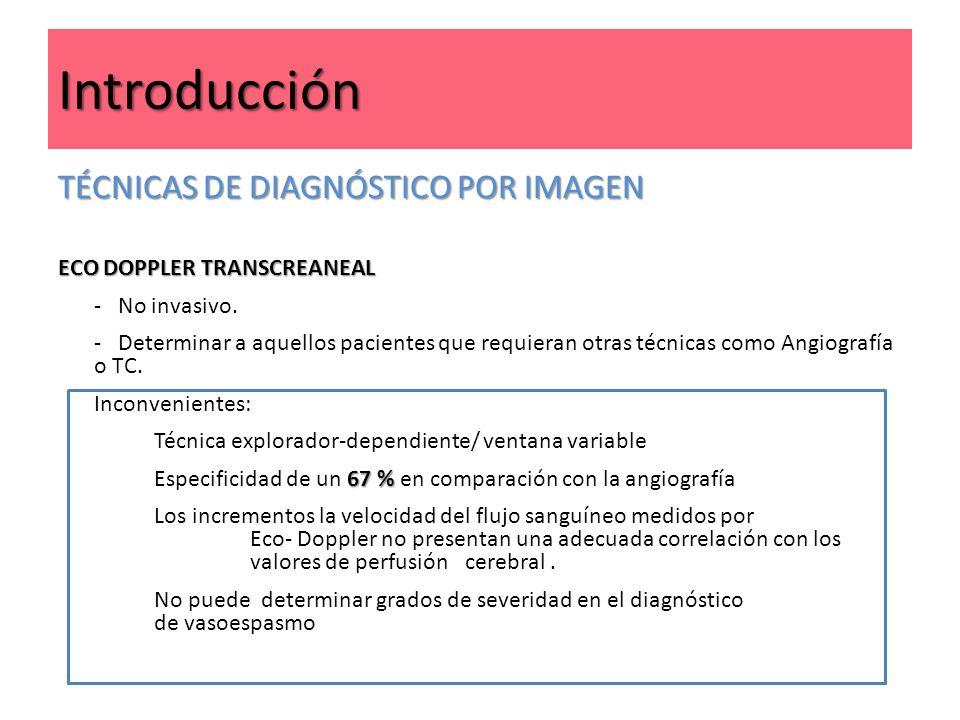 Introducción TÉCNICAS DE DIAGNÓSTICO POR IMAGEN