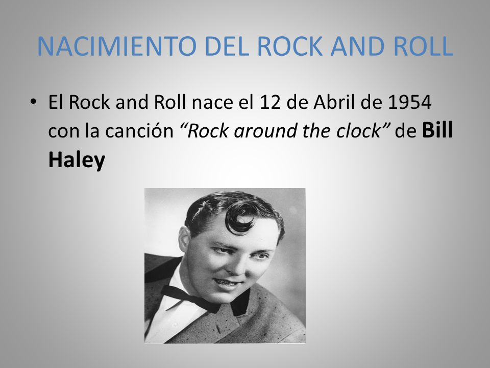 NACIMIENTO DEL ROCK AND ROLL
