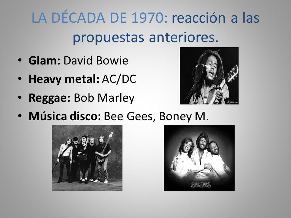 LA DÉCADA DE 1970: reacción a las propuestas anteriores.