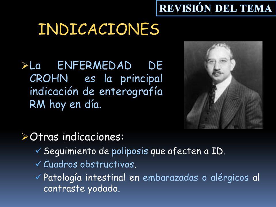INDICACIONES REVISIÓN DEL TEMA