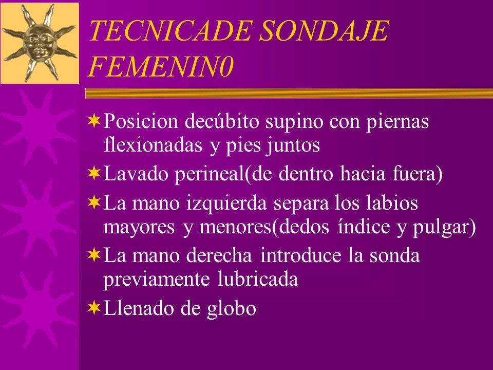 TECNICADE SONDAJE FEMENIN0